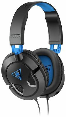 Turtle Beach Recon 50P Gaming Headset PS4/Xbox One/PC - Black Colour