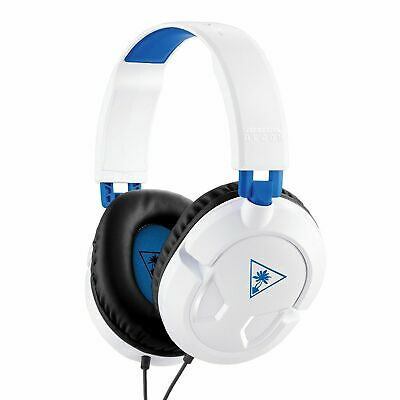 Turtle Beach Ear Force Recon 50P White Gaming Headset PS4 / Xbox One / PC / Mac