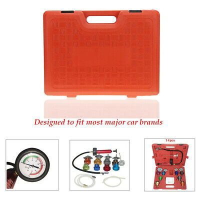 14PCS Radiator Water Pressure Tester Tank leak Detector For Cooling System Gauge
