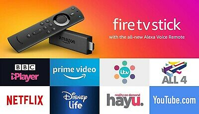 Brand new AMAZON Fire TV Stick with Alexa Voice Remote (2019) 2nd Generation