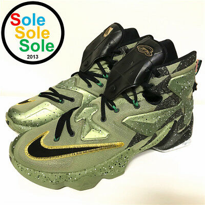 best service cbf24 e05e5 Nike LeBron XIII 13 AS Northern Lights All Star 835659 309 size 9.5