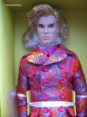 Poppy Parker Male Nigel North Hot Shot Homme Fashion Royalty Doll NRFB