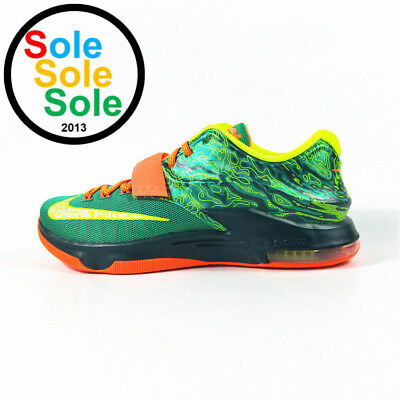 outlet store c7f27 9ca97 Nike KD Kevin Durant VII 7 Weatherman 653996 303 Size 10.5