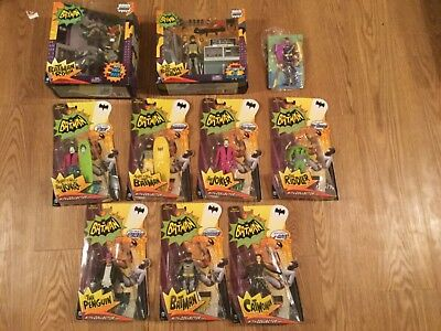 Batman Classic TV series1966 lot batgirl robin Joker Catwoman Penguin Riddler