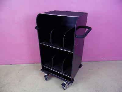 Mobile Medical X-ray Cassette Xray Film Records File Storage Cart Cabinet Stand