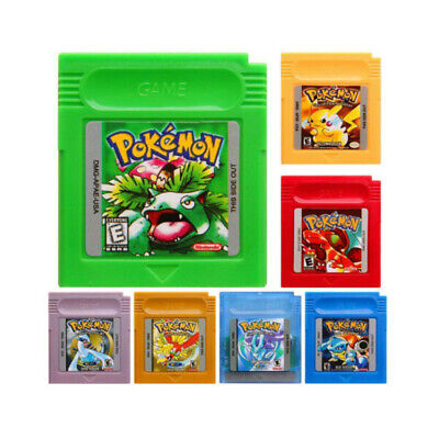 Games Card Carts Collection Kids Adults Gifts For Pokemon GBC/GBA GameBoy