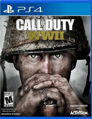New & Sealed Call Of Duty: WW2 (PS4)