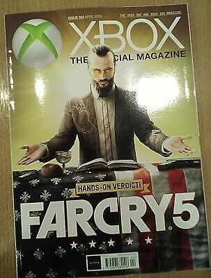 Far Cry 5 Official XBOX ONE Magazine 162 April 2018 - Subscriber Cover