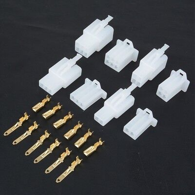 Cool 40 Set Auto Connectors Motorcycle Car Electrical 2 8Mm 2 3 4 6 Pin Wiring Digital Resources Operbouhousnl