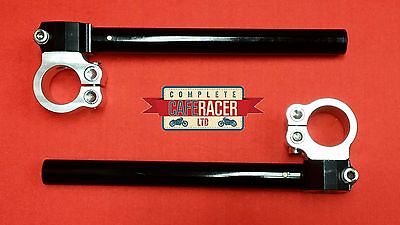 CAFE RACER 36mm CLIP ON HANDLEBAR FULLY ADJUSTABLE CNC ALLOY *NEW* FREE DELIVERY