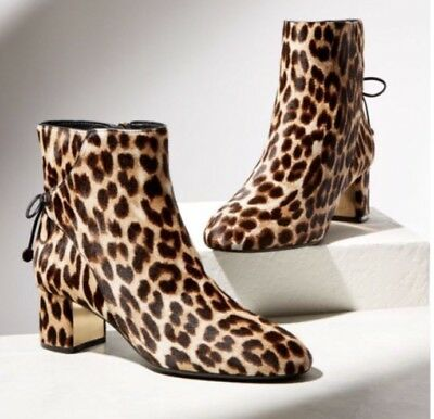 c09026fb461c TORY BURCH 7.5 LAILA LEOPARD Boot New/Box SOLD OUT BEAUTIFUL ...