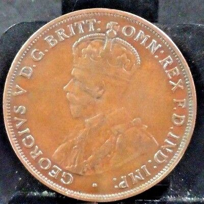Circulated 1917 1 Large Cent Canadian Coin (51718)1