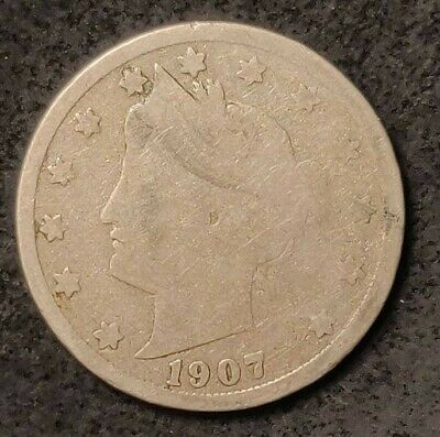 "1907 Liberty Head ""V"" Nickel"