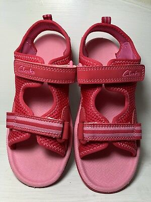 SURFING MOON GIRLS CLARKS OPEN TOE SPORTS STRAPPED CASUAL BEACH SUMMER SANDALS