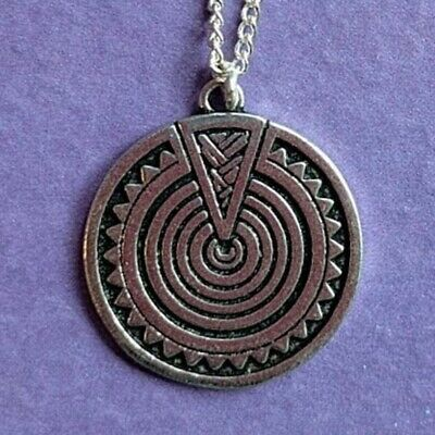 HEULSAF YR HAF Sun Wealth Silver Plated Celtic Birth Charm Necklace Jun-Jul
