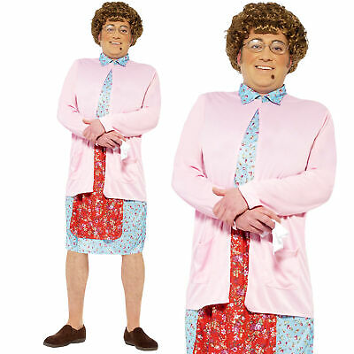 Mrs Browns Boys Costume Mens Adult Fancy Dress Stag Party Outfit TV Comedy