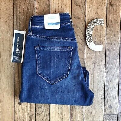 ba096734ed NWT Old Navy Women's Size 0 High Rise Cropped Wide Leg Blue Jeans New Pants