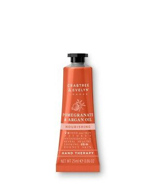 25ml Crabtree & Evelyn Hand Therapy Nourishing Pomegranate & Argan Oil Handcream