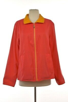 962da50dff9e3c Mycra Pac Now Womens Jacket Size OS Pink Orange Basic Reversible Coat  Softshell