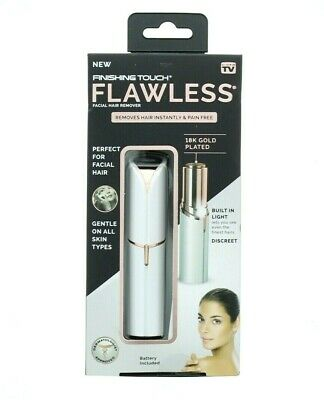 Finishing Touch Flawless Pain Free Dermatologist Approved Facial Hair Remover