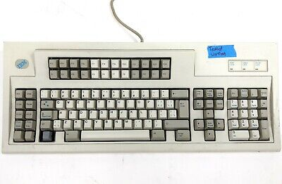IBM Model M 1397000 Mechanical Buckling Spring PS/2 Keyboard Tested Working