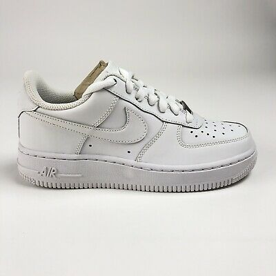 factory authentic ffb5d 23ee3 Nike Air Force 1 Big Kids Size 5Y Shoes GS 314192-117 Triple White