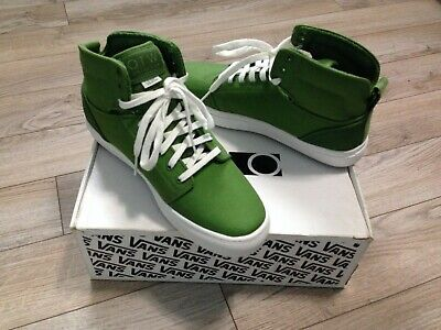 68d13c3ee990d4 VANS OTW ALOMAR - Men s 10.5 - Green and White Canvas Shoes - New in ...