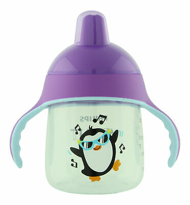 Philips Avent My Little Sippy Cup Purple 9 oz. Sippy Cups & Mugs