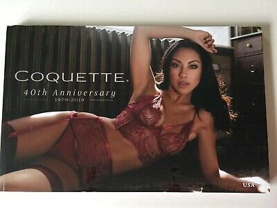 Coquette Lingerie 2019 Anniversary Fashion Catalog 184 Pages