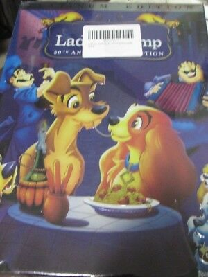 Lady and the Tramp (50th Anniversary/Platinum EDITION DVD,2006) NEW