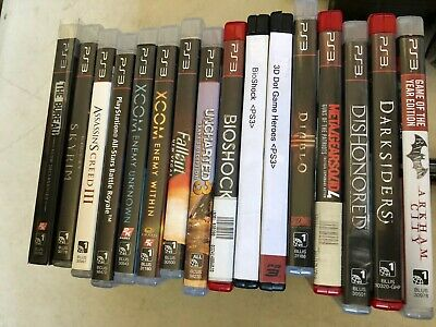 Lot of 16 Various PS3 Video Games - preowned