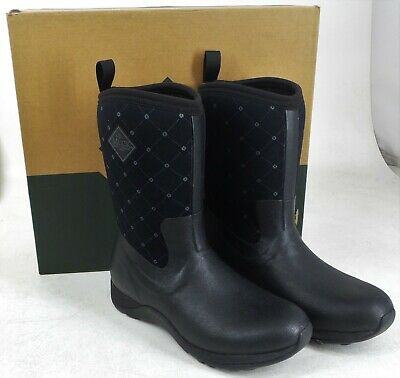 9412a4431b2cd MUCK ARCTIC WEEKEND Black Quilt Women's Winter Boots -NEW in Box ...