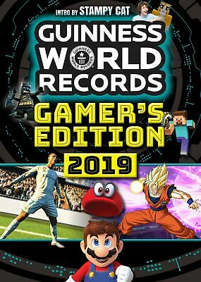 Guinness World Records Gamers 2019 Paperback book - NEW