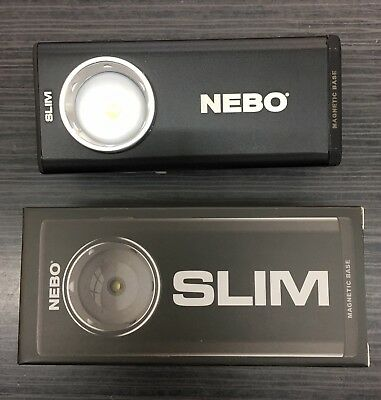 Nebo Slim C.O.B LED 500 Lumens Rechargeable Torch ~ Work / Flash Light ~ Black