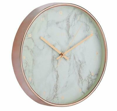 Jones New Marble Wall Clock Decor Gift Home Time