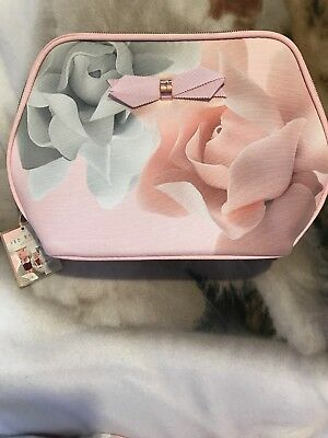 BNWT Ted Baker London Porcelain Opulence Toiletry Bag + toiletries Gift Set