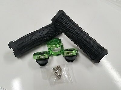 Lizard Skins Charger Lock-On MTB GripsGreen Black WhitePick your color!