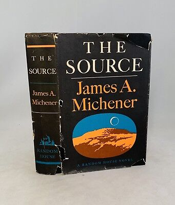 The Source-James A. Michener-SIGNED!!-First/1st Edition/5th Printing-1965-RARE!!