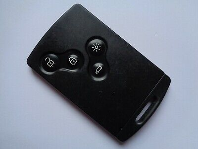 Genuine Renault Car Key Remote Fob 4 Button