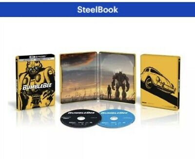 Bumblebee 4K Ultra HD + Blu-ray Best Buy Steelbook Transformers Preorder