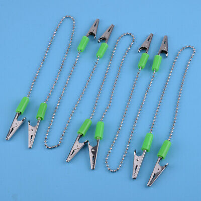 5pcs Dental Bib Clips Napkin Holder Flexible Ball Chain Orthodontics Oral Care