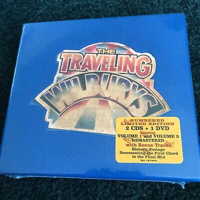 The Traveling Wilburys (CD-2007 2 Cds 1 Dvd, Rhino Sealed Harrison Petty Beatles