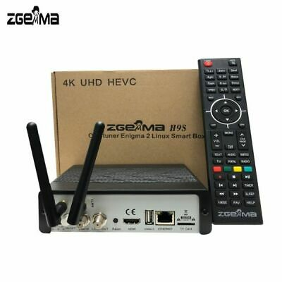 Zgemma  H9S Enigma 2 4K FREE TO AIR UHD Stalker  S2X Satellite Receiver UK PLUG