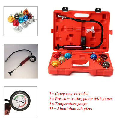 14PCS Radiator Water Pressure Tester Tank leak Detector For Cooling System 4116g