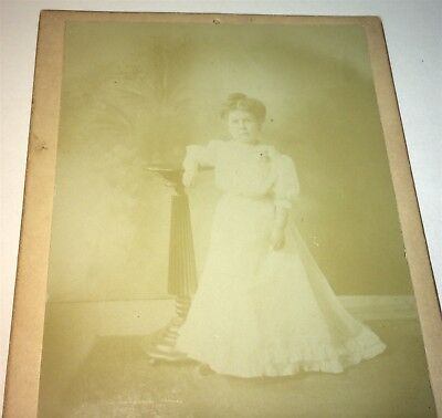 Rare Antique Victorian American Circus Sideshow Performer Midget Cabinet Photo!