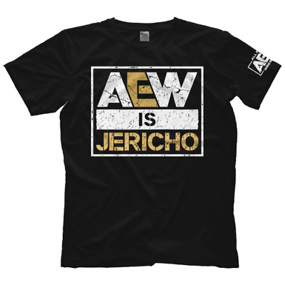9563 T-Shirt Chris Jericho AEW Is Jericho Bis 5XL ! AEW All Elite Wrestling Y2J