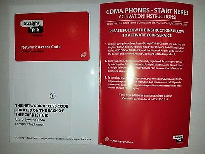 STRAIGHT TALK BYOP (Bring Your Own Phone) Verizon Activation