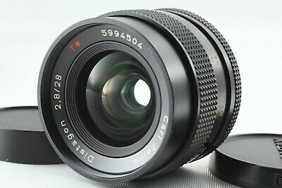 【NEAR MINT】 Contax Carl Zeiss Distagon T* 28mm F2.8 AEJ Lens From Japan 1884