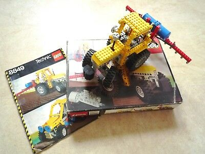 Lego Technic 8849 Tractor Clean And Complete With Original Plastic
