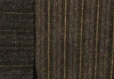 """HAND DYED RUG HOOKING WOOL Mill-Dyed APPLIQUE """"REVERSIBLE MUTED BLACK STRIPE"""""""